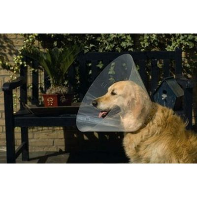 Beeztess zaštitna kragna za psa 44-50x25cm