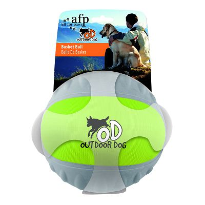 All for Paws Outdoor Basket Ball green