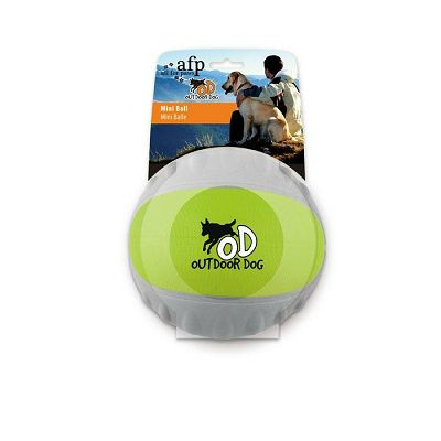 All For Paws Outdoor Dog - Mini Ball Green
