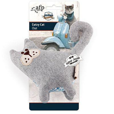 All for Paws Vintage Cutzy Cat igračka za mačke