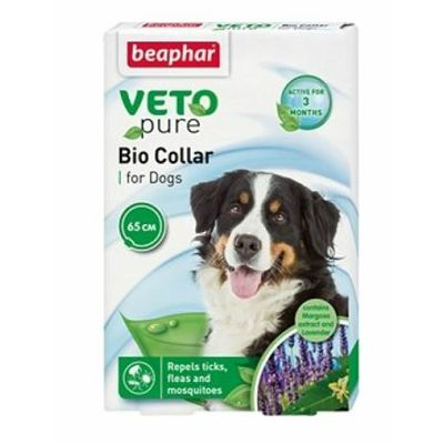 Beaphar Veto Pure Bio Collar, antiparazitska ogrlica za pse
