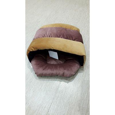 DMC jastuk za psa smeđe-žuti