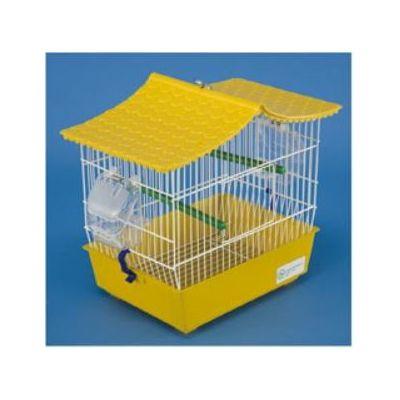 Domus Molinari kavez za ptice pravougaoni žuti