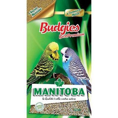 Manitoba Budgies Best Premium hrana za tigrice, 1 kg