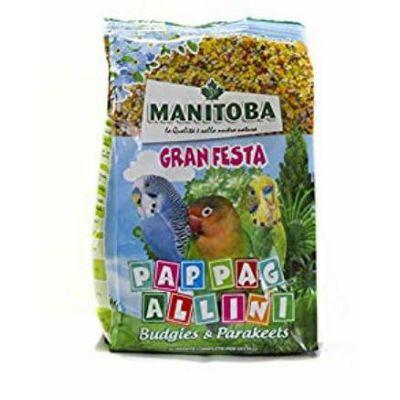 Manitoba Granfesta Pappagallini hrana za papagaje 500g