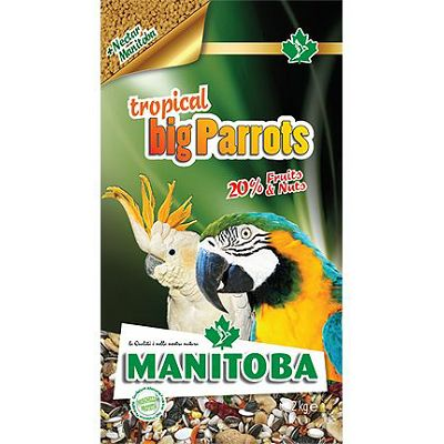 Manitoba Tropical Big Parrots hrana za velike papige, 2 kg