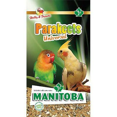 Manitoba Universal Parakeets hrana za srednje papige, 1 kg