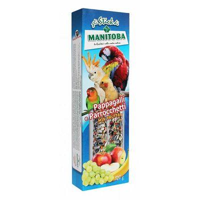 Manitoba voćna poslastica za srednje papige 120g
