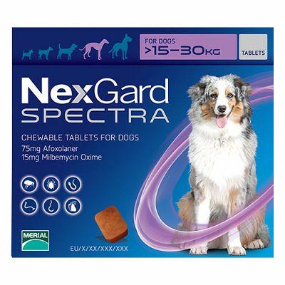Nexgard Spectra L // 15-30kg