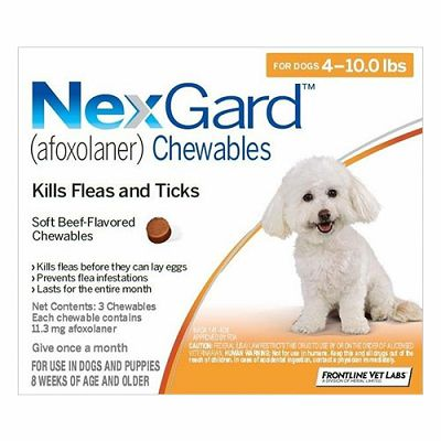 NEXGARD tableta protiv buha i krpelja za pse težine 2-4 kg