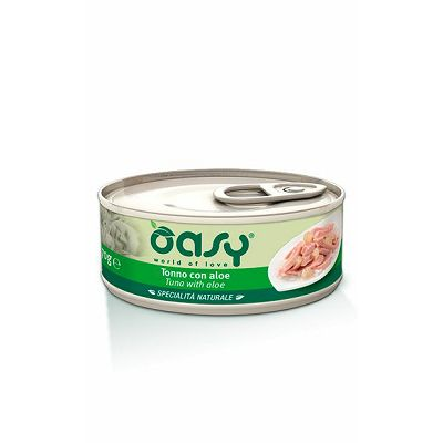 Oasy hrana za mačke tuna sa alojom 70g