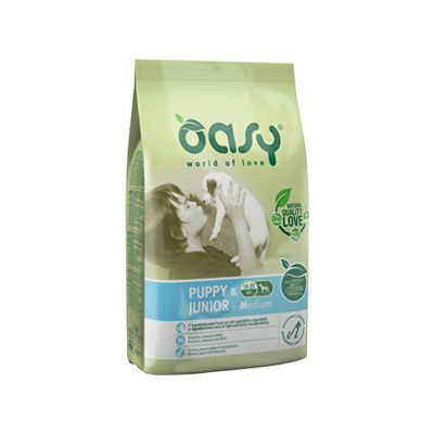 OASY Premium / Medium Puppy & Junior PILETINA 3kg