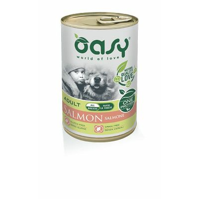 OASY One Protein Adult Salmon - losos hrana za pse 400g