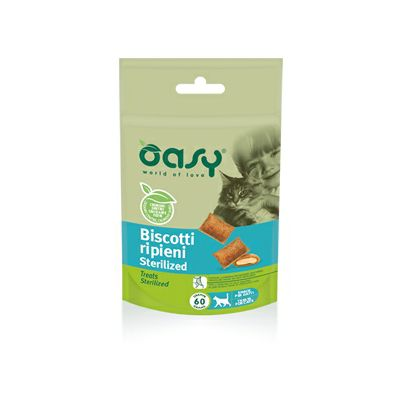 OASY Poslastica za sterilisane mačke, 60g