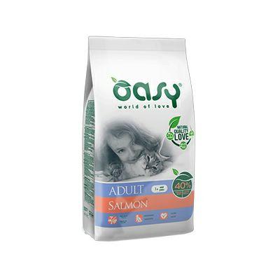 OASY Suha hrana za odrasle mačke sa lososom, 1.5 kg