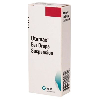 Otomax Ear Drops Suspension kapi za uši za pse 14ml