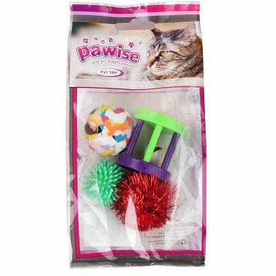Pawise igračke za mačke 4kom