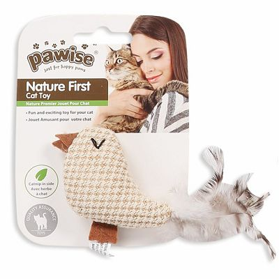 Pawise Nature first igračka za mačke 11x9cm