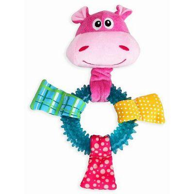 Pawise Puppy Toy Ring Hippo igračka za psa