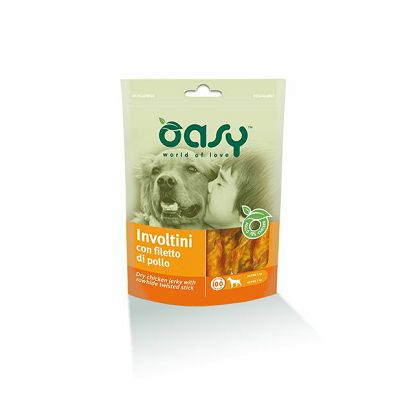 OASY Poslastica za pse, Involtini, 100 g
